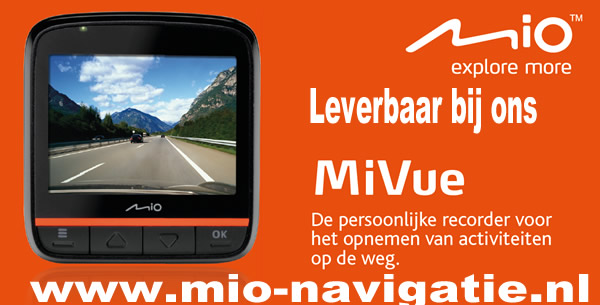 Mio MiVue dashcam recorder